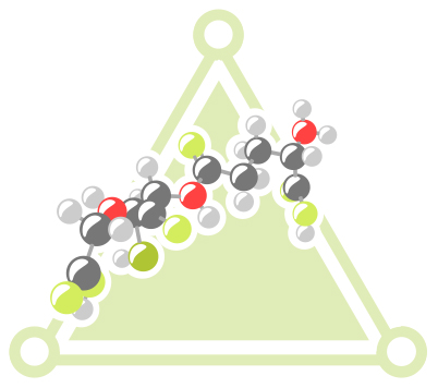 Glutathione has a unique molecular structure.